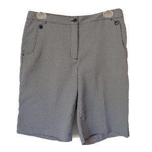 EP Pro Womens Golf Bermuda Shorts Size 4 Black